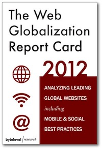 The 2012 Web Globalization Report Card