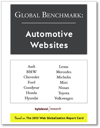 Global Benchmark: Automotive Websites